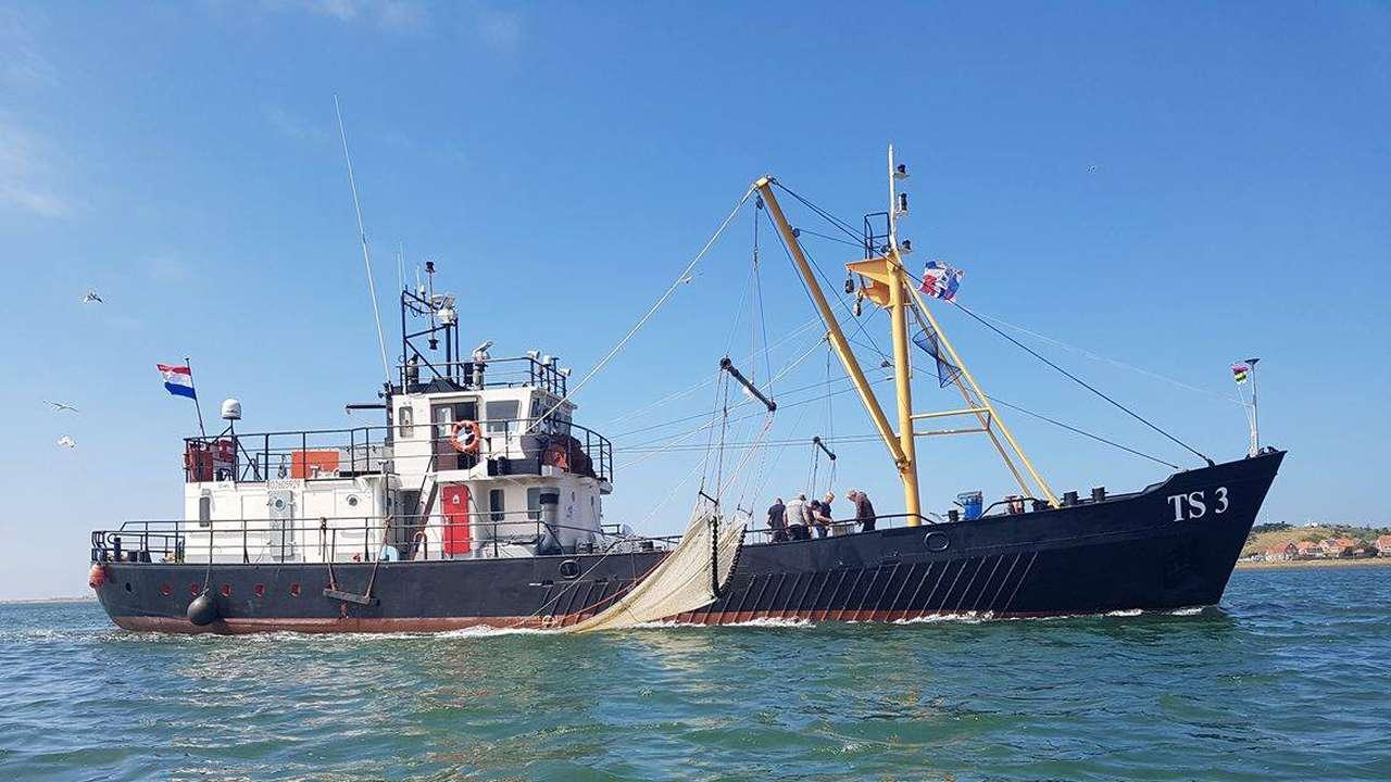 De TS3 Viking op zee