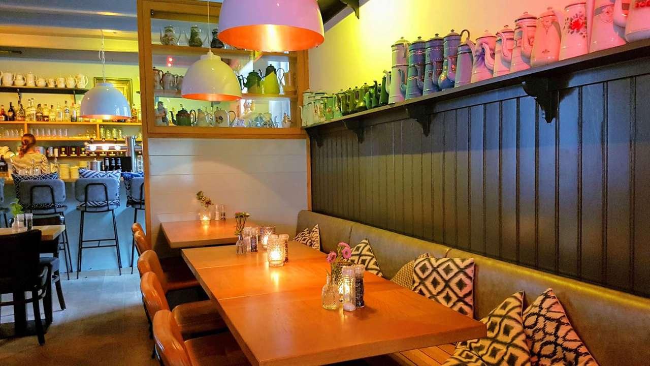 Interieur van restaurant De Koffiepot