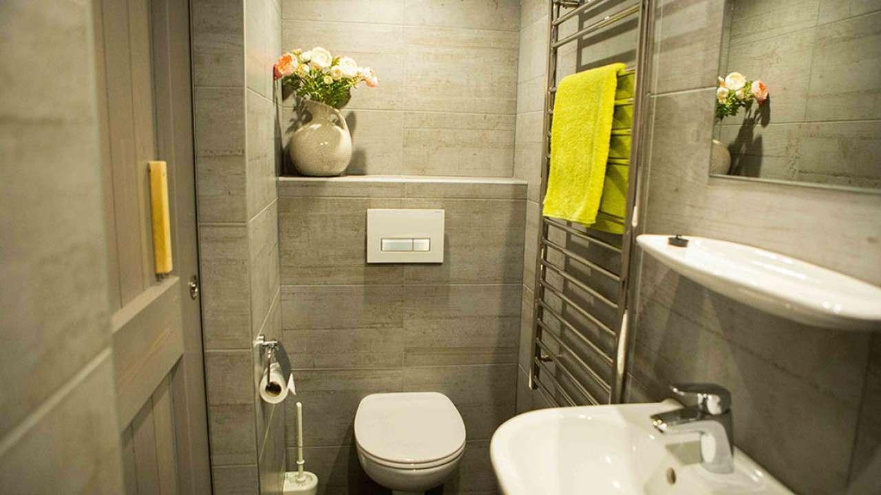 Badkamer van het appartement de Kooiker