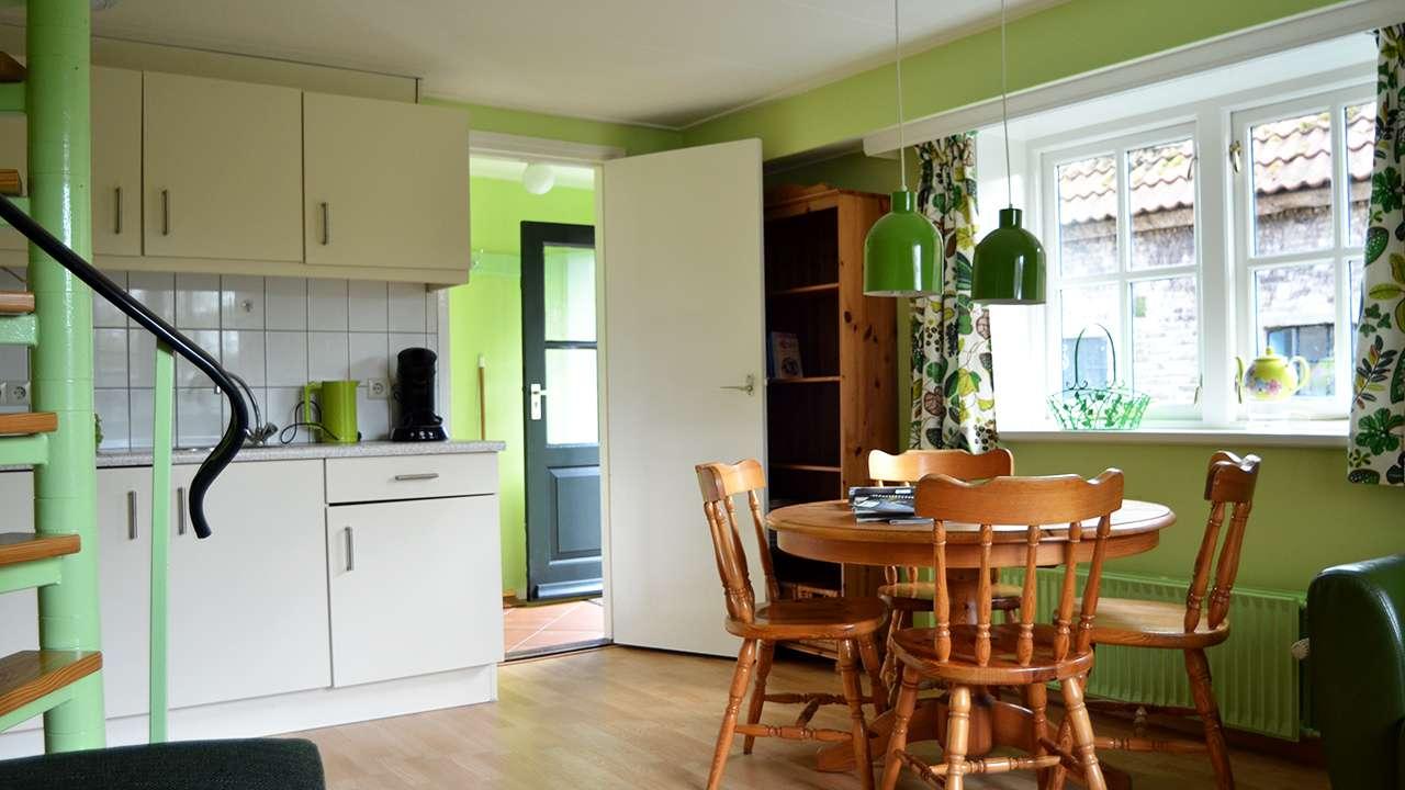 Appartement Op t hoekje op Terschelling - Keuken