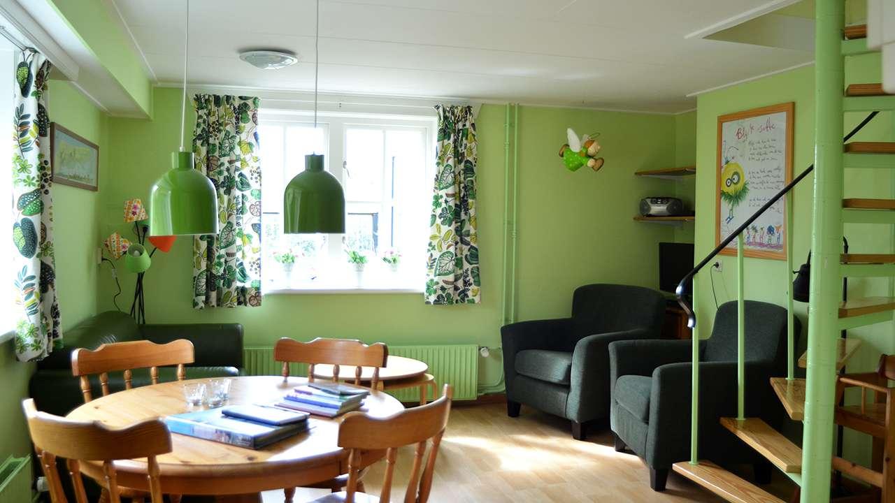 Appartement Op t hoekje op Terschelling - Woonkamer